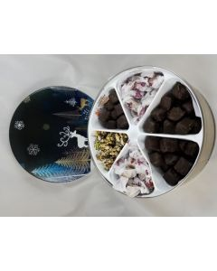 Candy Sampler Tin 48 oz