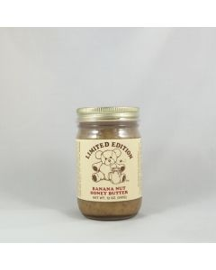 Banana Nut Honey Butter