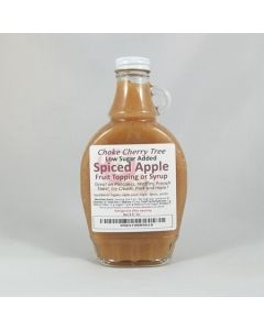 Spiced Apple Fruit Syrup Low Sugar Added