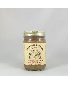 Raspberry Pecan Honey Butter