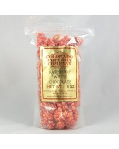 Raspberry White Chocolate Popcorn