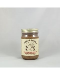 Strawberry Pecan Honey Butter